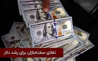 تقلای سفتهبازان برای رشد دلار