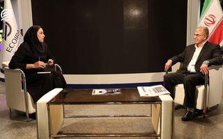 مصاحبه با دکتر مجدی رئیس دانشکده مهندسی معدن دانشگاه تهران در حاشیه همایش صنایع غیرآهنی