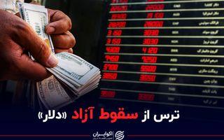 ترس از سقوط آزاد «دلار»