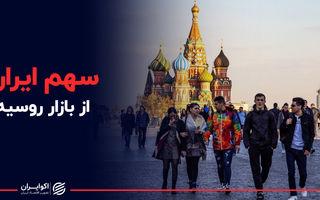 سهم ایران از بازار روسیه
