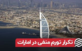 تکرار تورم منفی در امارات