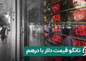 تانگو قیمت دلار با درهم