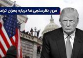 تظاهرات در آمریکا | مرور نظرسنجیها درباره بحران ترامپ